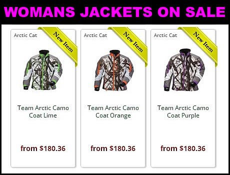 Discount womans Snowmobile jackets