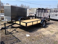 2014 BNM Trailers Lowside Utility: 512LS3