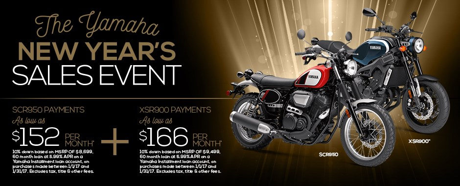 Yamaha Motorcycles on Sale