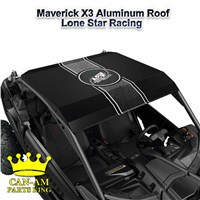 Maverick X3 Black Aluminum Roof-Lonestar Racing