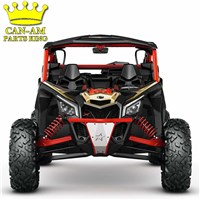 Maverick X3 Red LoneStar Racing Front Bumper