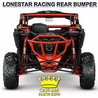 Maverick X3 Rear Red Lonestar Racing Bumper