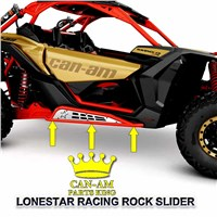 Maverick X3 Red Rock Sliders For Sale