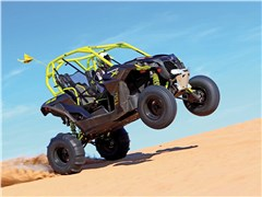 Can-Am Maverick Turbo 1000 Jumping