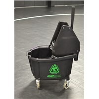 Courtclean® Heavy Duty Downpress Wringer/Bucket