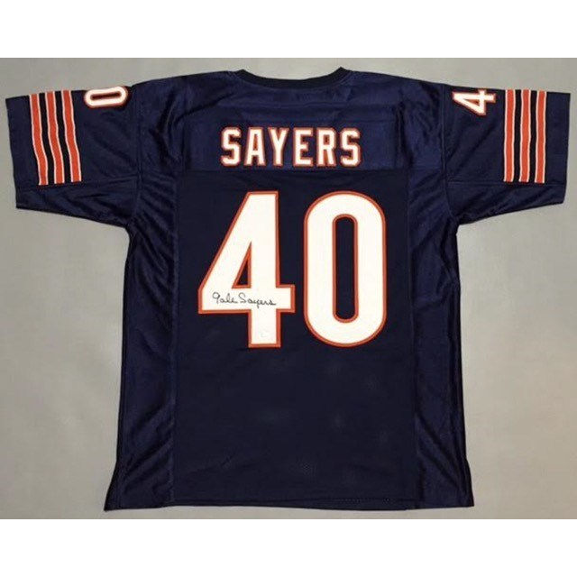 Legendary NFL Hall of Fame Gale Sayers Signed Jersey