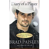 "Brad Paisley ""Diary of a Player"" Book"