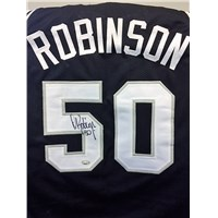 David Robinson San Antonio Spurs Signed Jersey
