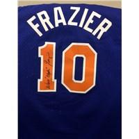 """Walt """"Clyde"""" Frazier Signed New York Knicks Jersey"""