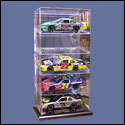 5 Car 1:24 Scale Display Case