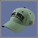 Real Men Hat - Grey
