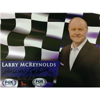 Larry McReynolds 2015 Signed Autograph Card