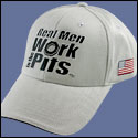 Real Men Hat - Silver