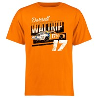 Darrell Waltrip Driver T-Shirt - Orange