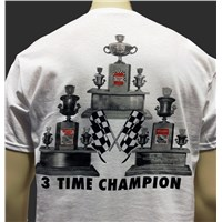 Darrell Waltrip Championship Trophies T-Shirt