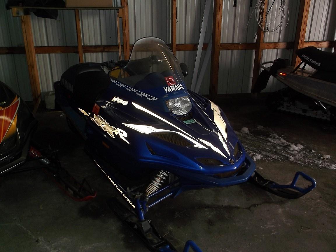 2000 Yamaha SXR 500