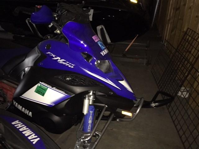 2009 Yamaha Yamaha FX Nytro XTX