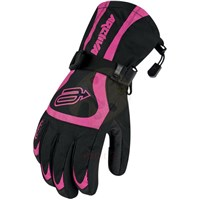 Kids Black/Pink Comp 7 Glove