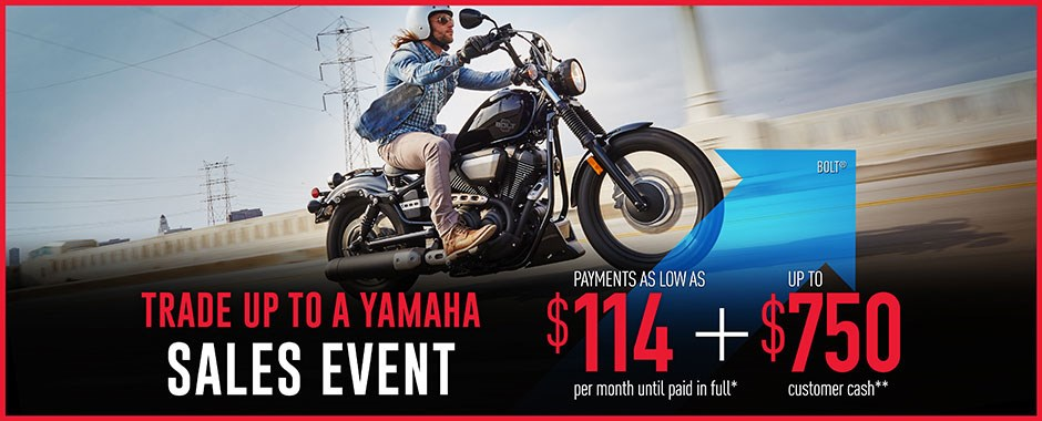 Yamaha Cruiser Sale