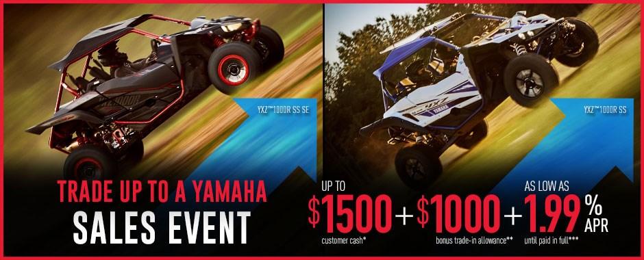Yamaha SxS Sale