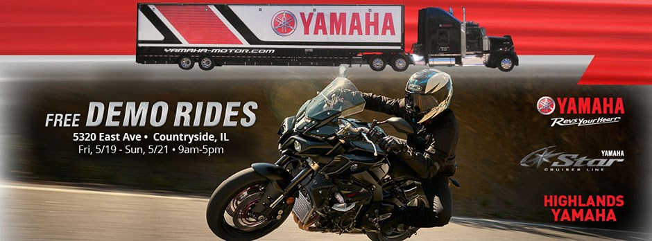 Yamaha Demo Ride