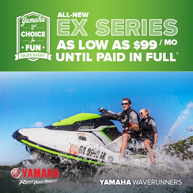 Yamaha Waverunner Sale