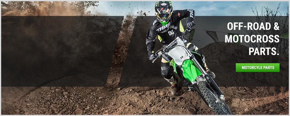 Shop Kawasaki Motocross & Off-Road Parts