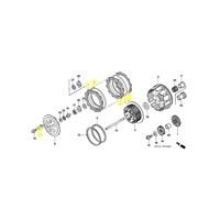 OEM Honda Clutch Kit for 2004 to 2009, 2012, 2014 TRX450R/ER