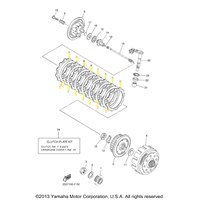 Yamaha Clutch Kit for 2007 to 2009 YZ450F
