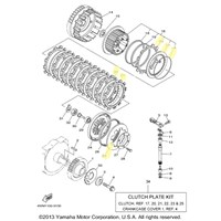 Yamaha Clutch Kit for 1999 to 2003 ROAD STAR
