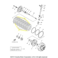 Yamaha Clutch Kit for 2007 and 2008 YFZ450R