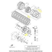 Yamaha Clutch Kit for 2004 to 2007 ROAD STAR