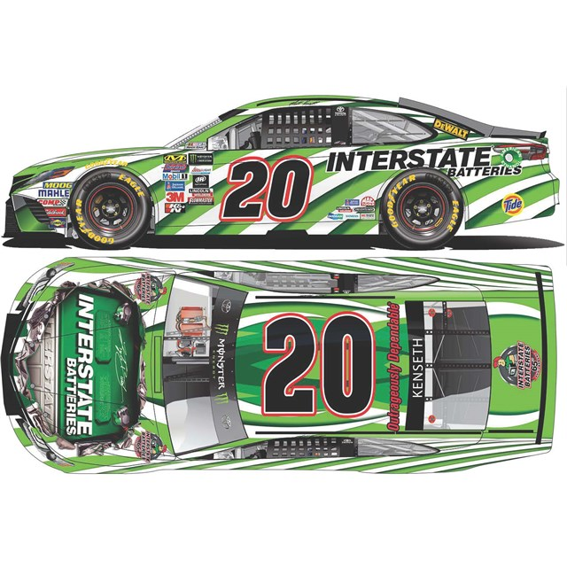 Pre-Order 2017 Autographed Interstate Batteries Die-Cast
