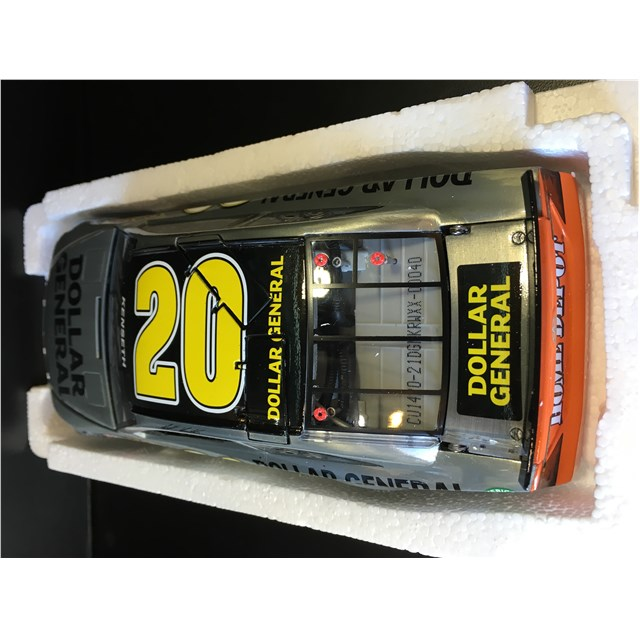 Autographed 2014 Dollar General Raw Die-Cast