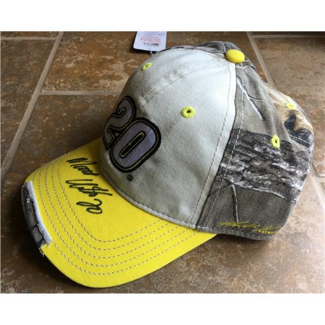 Autographed Camo Patch Hat