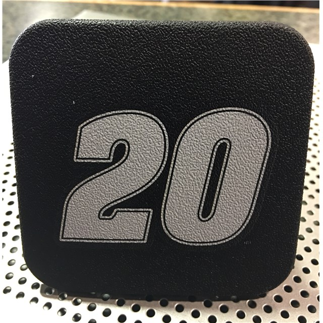 """Rubber 2"""" Hitch Cover"""