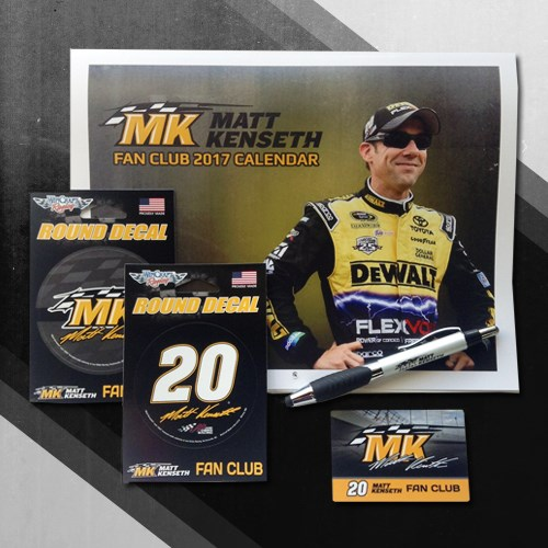 2017 Matt Kenseth Fan Club Membership