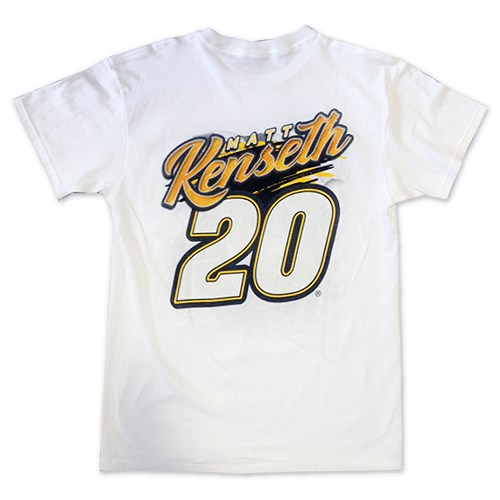 White In Motion Car Tee