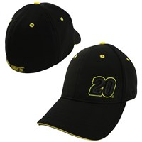 Black Fitted Varsity Hat  21580