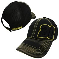 #20 Black Mesh Hauler Hat  20120