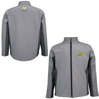 Men's Grey Soft Shell Jacket