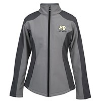 Ladies Grey Soft Shell Jacket