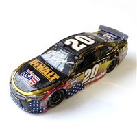 2015 Autographed Dewalt Patriotic Color Chrome Die-Cast