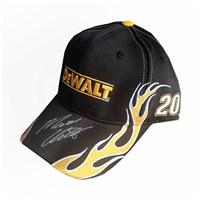 Autographed DEWALT Big Flames Hat FREE SHIPPING