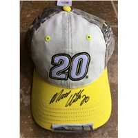Autographed Camo Patch Hat