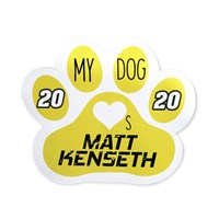 My Dog Loves Matt Magnet