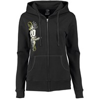 Ladies French Terry Full Zip Hoodie