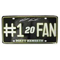 #1 Fan License Plate