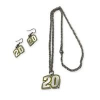 Ladies Pewter Earrings & Necklace Set