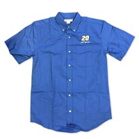 Featherlite S/S Oxford Shirt Blue